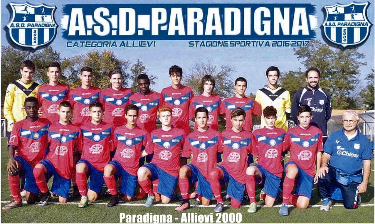 Allievi 2000 Paradigna