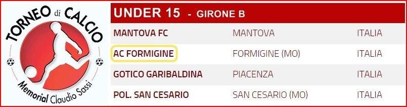Girone U15