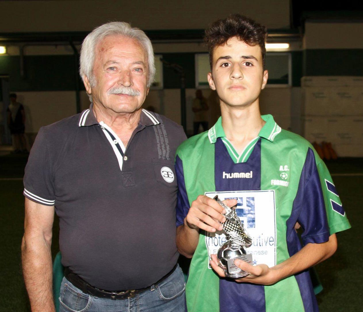 8° Memorial Camuncoli - Miglior giocatore Denis Leka