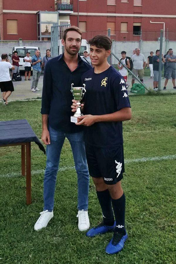 30 Fontana premiazioni 0c Riccardo Galletti - Modena FC - miglior giocatore