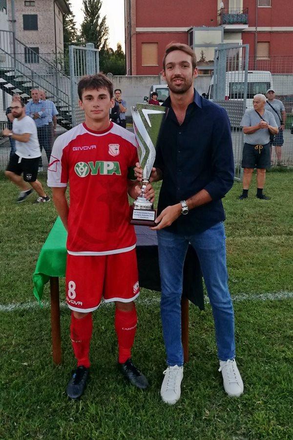 30 Fontana premiazioni 1 classificata Carpi FC
