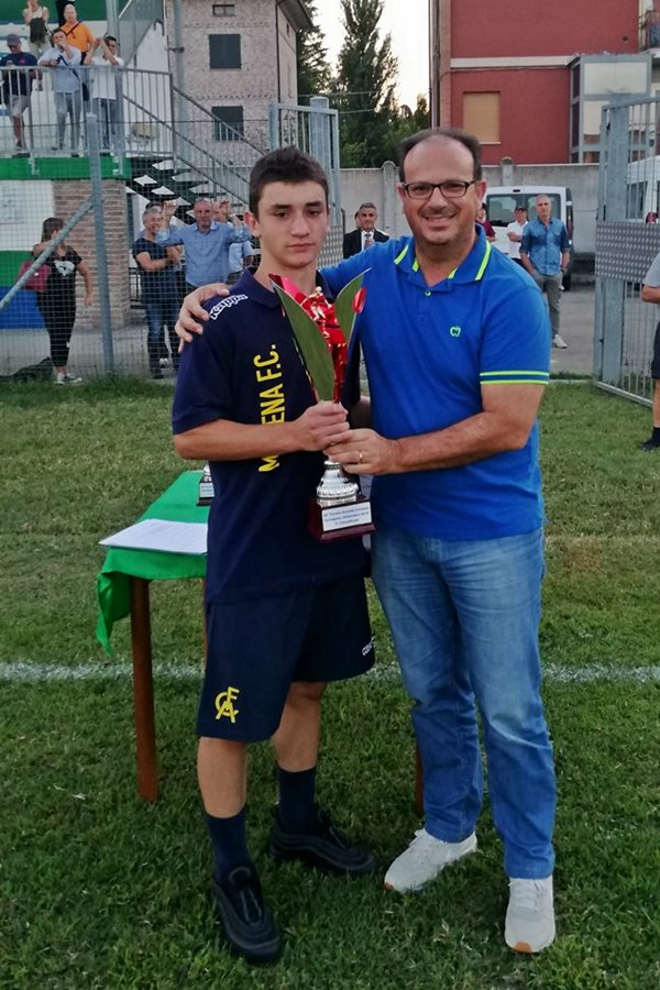 30 Fontana premiazioni 2 classificata Modena FC